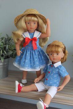Морские наряды для парочки Минуш! / Одежда для кукол / Шопик. Продать купить куклу / Бэйбики. Куклы фото. Одежда для кукол
