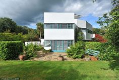 Ahead of its time: This Grade II listed property's ultra-modern facade would not look out ...