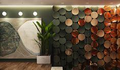 Showroom Design, Cafe Interior Design, Wall Decor Design, Ceiling Design, Spa Design, House Design, Design Visual, Hotel Lobby Design, Wall Treatments