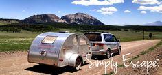 Furniture maker designs campermade / sold in Minnesota. No bunks.  Outside kitchen.