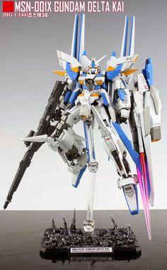 GUNDAM GUY: HG 1/144 Gundam Delta Kai - Customized Build