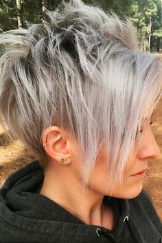 Short Pixie Layered Hair