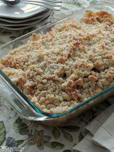 Grandpa's Warm Apple Crisp