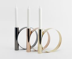 Candleholders by Bower | sightunseen.com