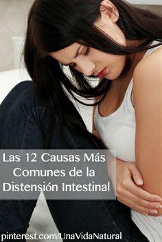 Existen varios factores que provocan la distensión intestinal.  Afortunadamente muchos de ellos pueden ser tratados inmediatamente. #SaludNatural