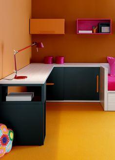 Fotografia dormitorio juvenil. #fotografia #muebles #decoracion #juvenil
