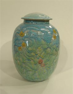 """Rupert Andrews - """"Quiet Garden"""" - funerary urn"""