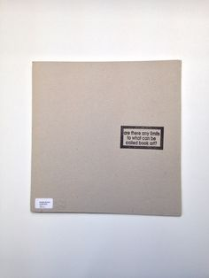 Are there any limits to what can be called book art?, Les Bicknell