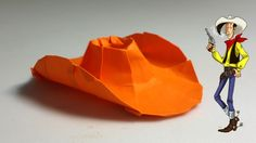 How to make an origami cowboy hat (Henry Phạm)