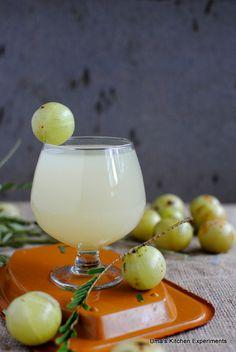 Amla Lemonade / Indian Gooseberry Lemonade ~ My Kitchen Experiments