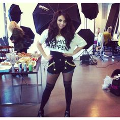 Little Mix's Jesy Nelson seems down after trolls say she is 'fat, ugly... ❤ liked on Polyvore