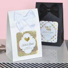 Personalized Metallic Foil Candy Bags