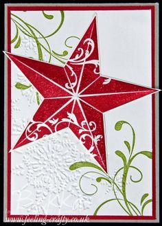 Christmas Star - Feeling Crafty, Bekka Prideaux