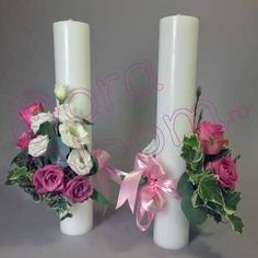 Lumanari nunta Pillar Candles, Decor, First Holy Communion, Decoration, Decorating, Candles, Deco