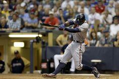 Jason Heyward hits a solo home run - September 12, 2012