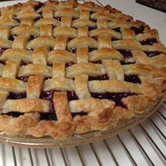 Mystery Ingredient Wild Blueberry Pie - Allrecipes.com