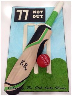 Cricket Cake, 9th Birthday, Birthday Cakes, Party Cakes, Party Party, Little Cakes, Cakes For Boys, Love Gifts, Cake Designs