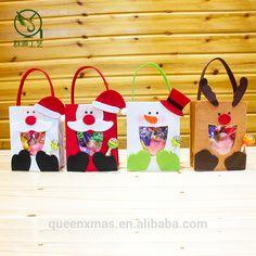 Nueva Llegada Hecha A Mano Sentía Bolsa de Regalo de Navidad Al Por Mayor-imagen-Envasado Bolsas-Identificación del producto:1108347164-spanish.alibaba.com