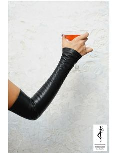 Fingerless Gloves known as  Kittys  by WittyKittys on #Etsy, $88.00 #sexy #leather