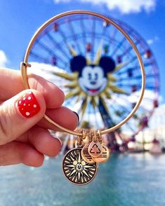 ALEX AND ANI Disney Charm Bangles | Available on disneystore.com and in the theme parks in both Disney World and Disney Land