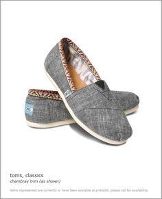 toms chambray classics