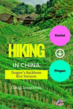 A step by step guide to hiking from Dazhai to Pingan along the Dragons Backbone Rice Terraces in Longji, Longsheng China! Enjoy!