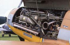 showing engine upside-down Plane Engine, Aircraft Engine, Ww2 Aircraft, Fighter Aircraft, Military Jets, Military Aircraft, Luftwaffe, Scale Models, Focke Wulf