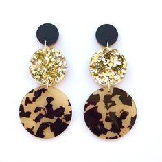 Gold Bar Earrings, Diy Earrings, Stud Earrings, Statement Earrings, Resin Jewelry, Fine Jewelry, Biscuit, Minimalist Earrings, Birthstone Jewelry