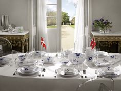 Royal Copenhagen Blue Fluted Mega. Dream China.