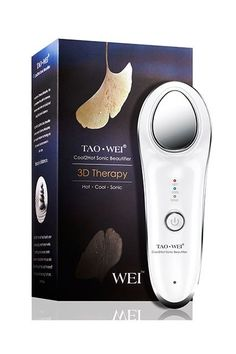 If you've ever used a cold spoon to de-puff tired eyes or hot steam to help your skin absorb product, this gadget should be right up your alley. The Tao Wei will help you get the most out of whatever product you're using. Its hot setting will liquify your serum or cream, and make sure it's fully absorbed into your skin. The cold setting will tighten your pores and lock in all those nutrients. It's all about achieving harmony in your skin.