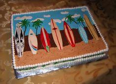 Surfboard Cake  on Cake Central