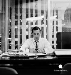 man don draper actor jon hamm with an iphone haha more jon hamm draper HD Wide Wallpaper for Widescreen