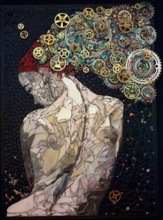 The Magnificent Mosaic Art By Laura Harris - Tumblr
