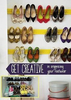 Creative Ways to Store Shoes | eBay