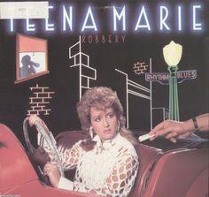 Teena Marie Robbery Vinyl LP Record Album