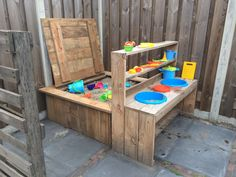 outdoor play area for kids – Kids' Playground . Kids Outdoor Play, Outdoor Play Areas, Kids Play Area, Backyard For Kids, Outdoor Fun, Diy For Kids, Mud Kitchen, Sand Pit, Backyard Playground