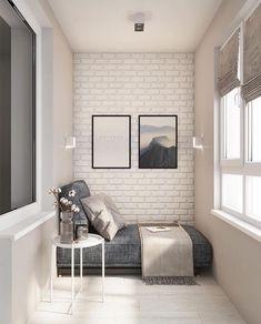 ⠀ # Design # Interieur # Dekor # Wohnung # Zimmer - Юляшка - Fitness and Gym Home Living Room, Interior Design Living Room, Living Room Designs, Small Room Bedroom, Bedroom Decor, Small Balcony Decor, Small Space Interior Design, Apartment Balcony Decorating, House Design