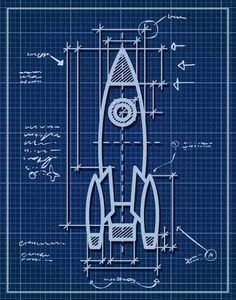rocket wall decal - Google Search