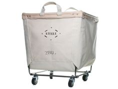 laundry bin on casters | picture above, is section of Futuristic Laundry Hamper on Wheels ...