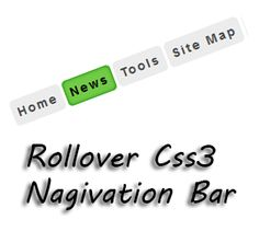 Rollover Css3 Navigation Bar for Blogger | Blogger Trix | Blogger Tips and Tricks | Free Templates