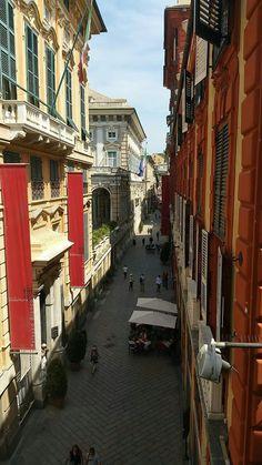 Via Garibaldi Genova, Italy