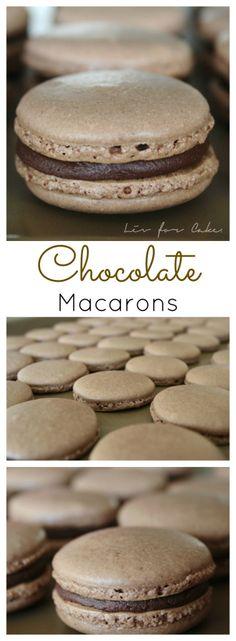 Chocolate Macarons |