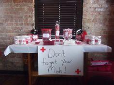 nursing graduation party ideas | Red Cross Nursing graduation / Graduation/End of School / Party Photo: