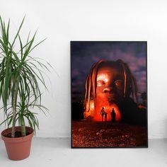 Travis Scott Astroworld Poster - Dark Theme 43dc426be