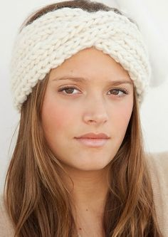 Must Try Knit Pattern #2 iKNITS: Twistin' Turban