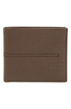TOD'S Bifold Leather Wallet. #tods #bags #leather #wallet #accessory