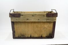 Vintage Wood Banana Crate / Wood Crate / by HuntandFound on Etsy