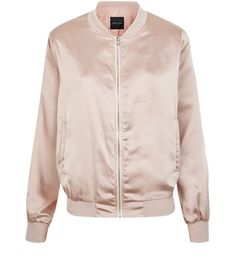 A must-have jacket in a must-have shade - our Shell Pink Sateen Bomber Jacket ticks all the style boxes. £27.99 #newlook