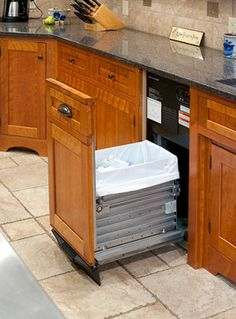 Delightful Trash Compactor Built Into Kitchen Island | 468 Spring Meadows Dr, Idaho  Falls, ID, 83404   Real Estate RealtyTrac | Kitchen | Pinterest | Trash  Compactors, ...
