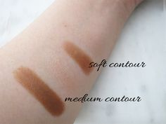 Swatches of Diorblush Light & Contour Sculpting Stick Duo Shadow & Light…
